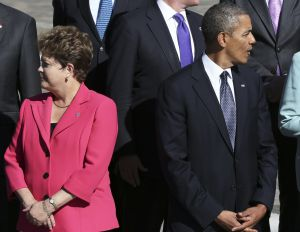 Dilma Rousseff y Barack Obama.