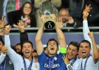O Real Madrid leva a Supercopa da Europa