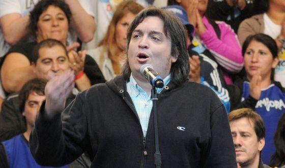 A estreia do filho dos Kirchner