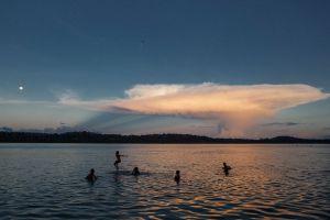 Comunidade de Montanha e Mangabal no Alto Tapajós, na Amazônia