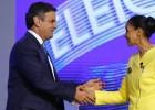 Os presidenciáveis se enfrentam no último debate antes da eleição