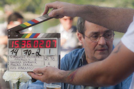 Daniel Dantas grava a sequência de 'Pequeno Dicionário Amoroso', filme de Sandra Werneck.