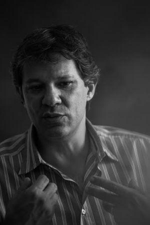Fernando Haddad, na prefeitura.