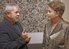 Dilma Rousseff busca o apoio de Lula para tentar sair da crise