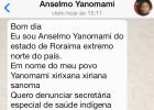 Os Yanomami pedem socorro pelo WhatsApp pela morte de crianças