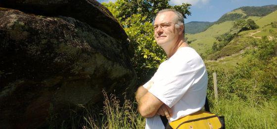 O biólogo espanhol Gonzalo Alonso, assassinado em 2013 no Rio.