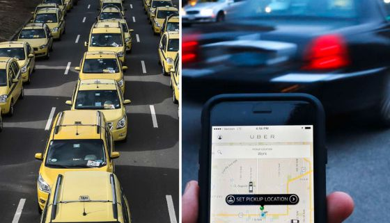 """""""Não é Táxi x Uber, não é um ou outro, os dois funcionam juntos"""""""