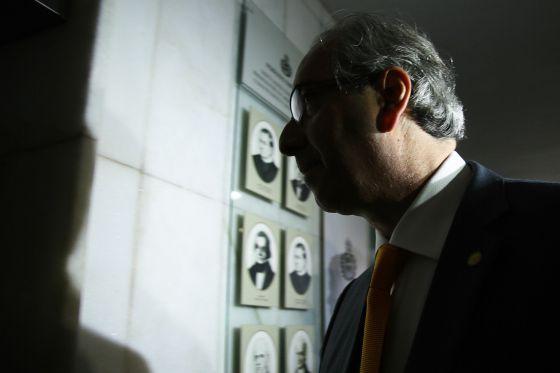O deputado Eduardo Cunha.