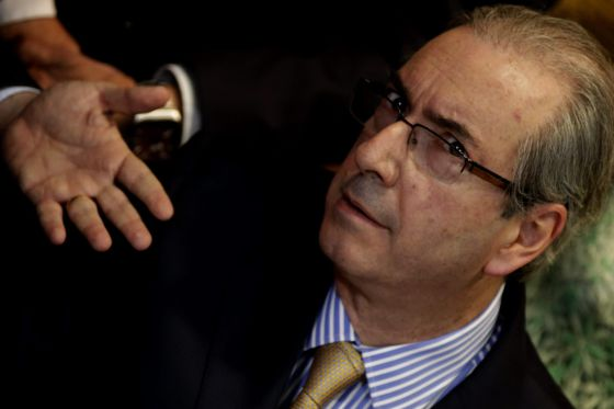 O presidente da Câmara dos Deputados, Eduardo Cunha (PMDB), na semana passada.