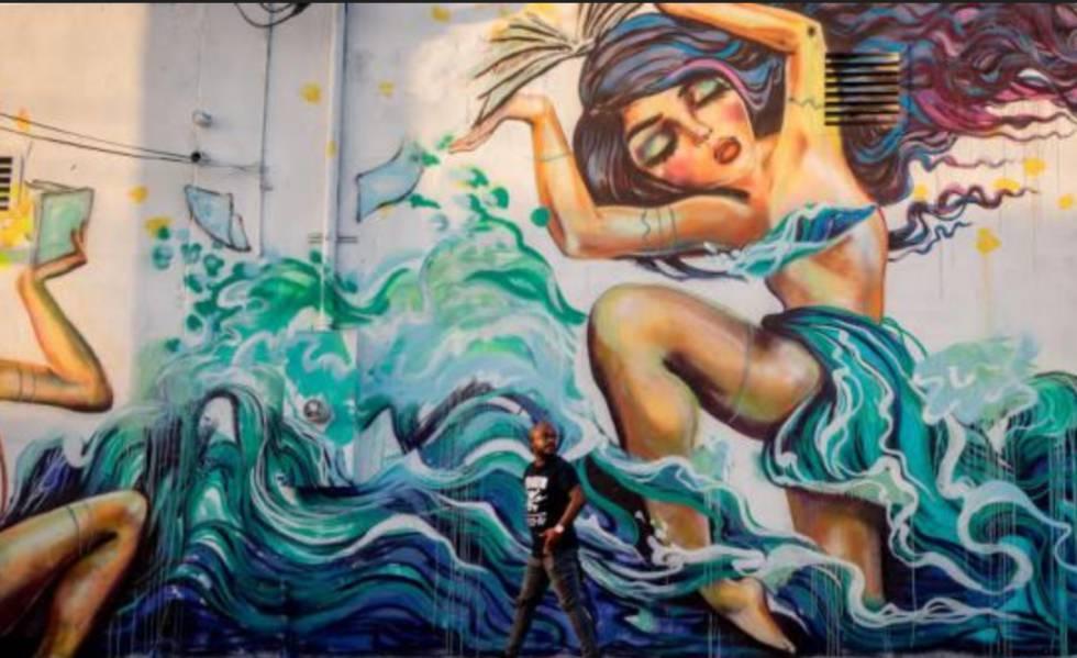 A história do bairro do grafite em Miami evocado por Doria em São Paulo