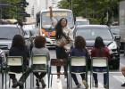 Alunos protestam em São Paulo contra o fechamento de escolas