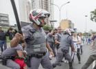 Repressão da polícia inaugura a nova fase da reorganização escolar