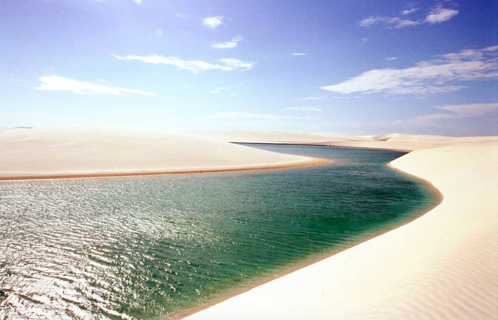 Um deserto com 5.000 oásis no litoral do Maranhão