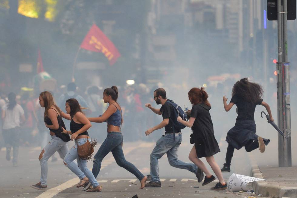 Manifestação MPL em São Paulo