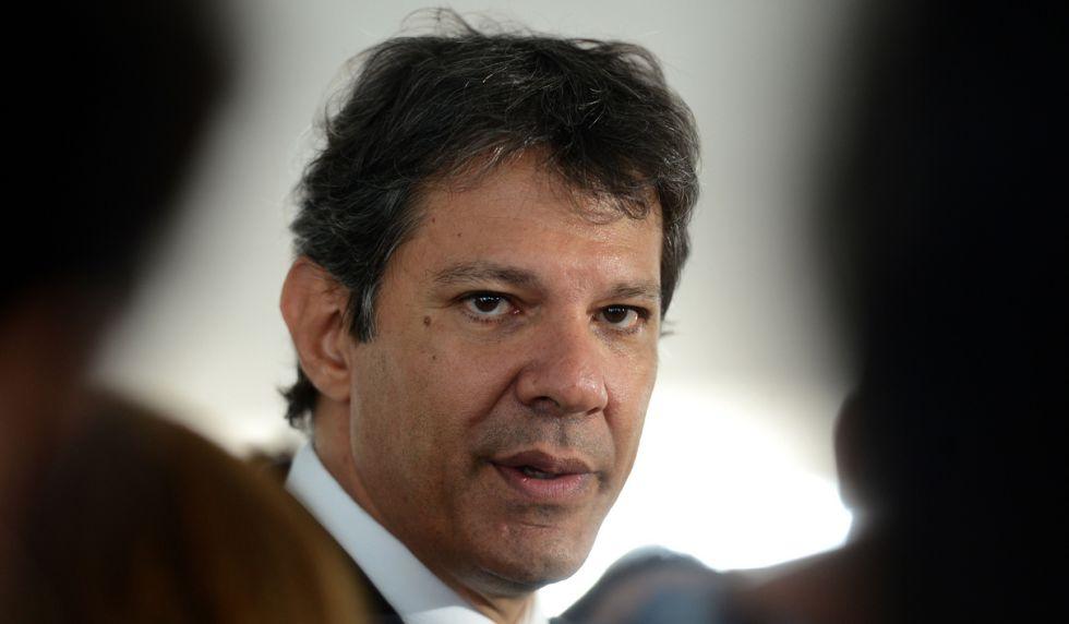 O prefeito de São Paulo, Fernando Haddad.
