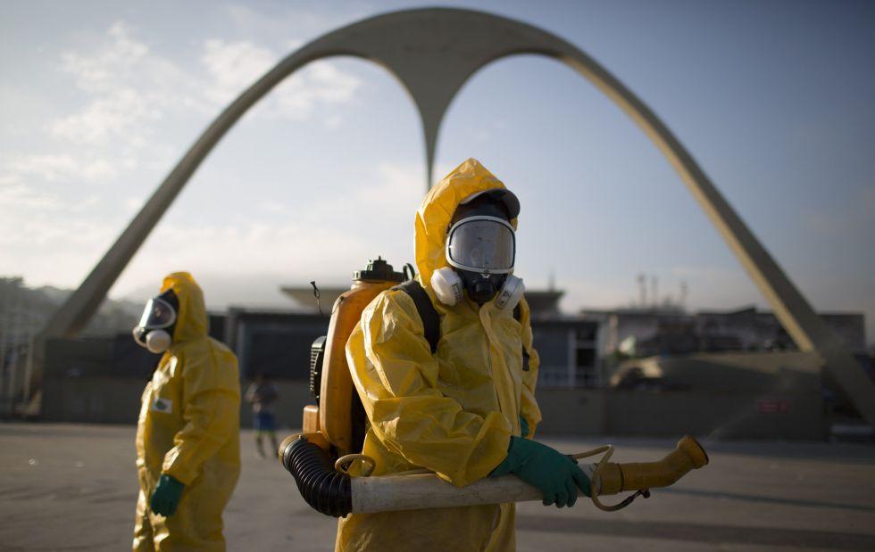 Olimpíadas de 2016 tentam afastar o zika vírus