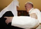 Papa e o líder da igreja ortodoxa russa iniciam a reconciliação