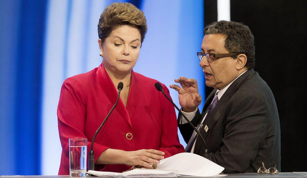 Dilma com João Santana, marqueteiro do PT