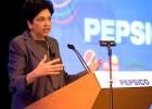 A conselheira delegada de Pepsi, Indra K. Nooyi.