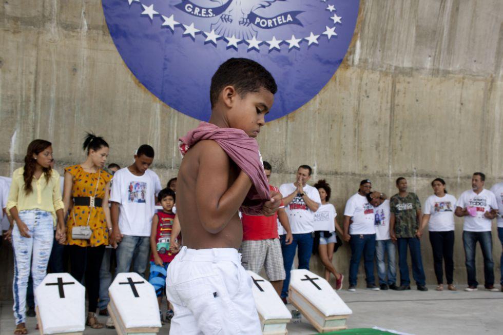 """Brasil, um país em """"permanente violação de direitos humanos"""""""
