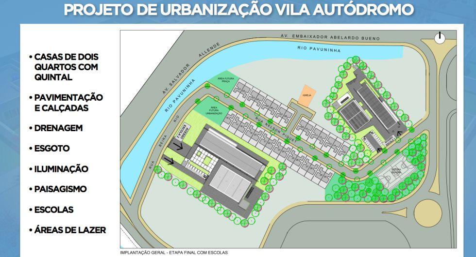 Río promete ahora urbanizar los restos de la favela del Parque Olímpico