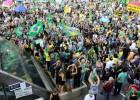 Euforia e tensão em 24 horas de 'Fora Dilma' na Paulista