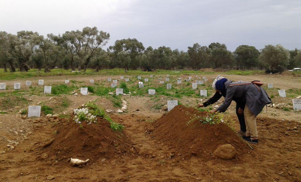 O cemitério dos imigrantes sem nome