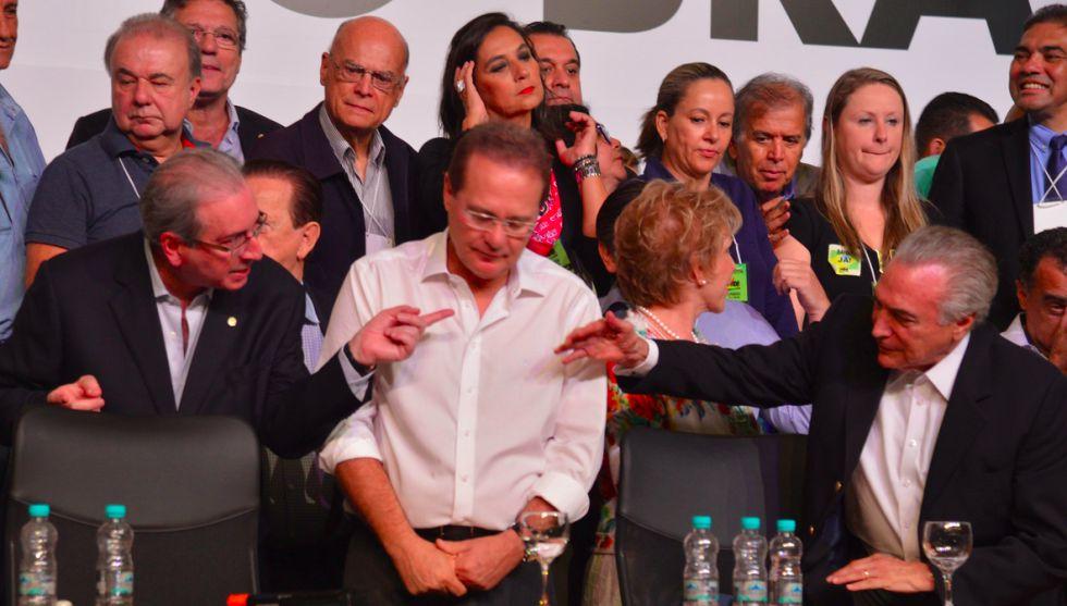 PMDB deixa Governo Dilma
