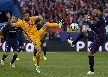 Atlético de Madri derrota o Barça e está na semifinal da Champions