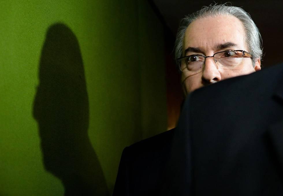 O presidente da Câmara Eduardo Cunha.