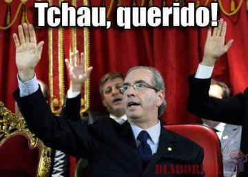 #TchauQuerido: as reações à saída de Cunha da Câmara na internet