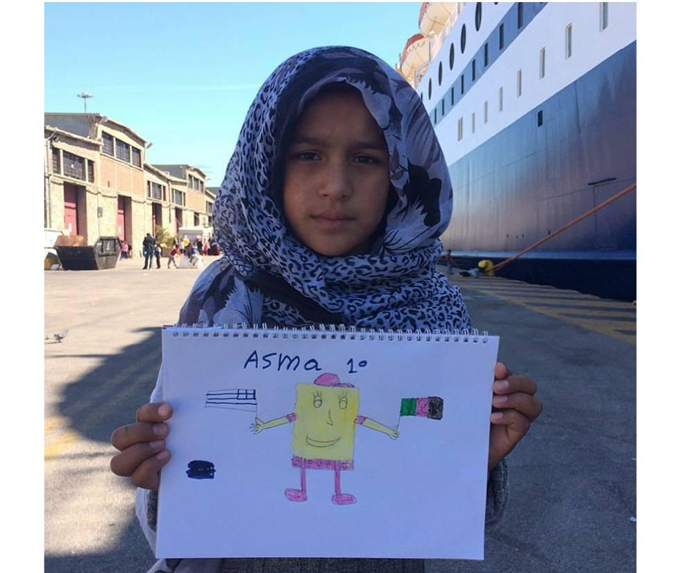 Os desenhos das crianças refugiadas: mar, sonhos de reencontro e Bob Esponja
