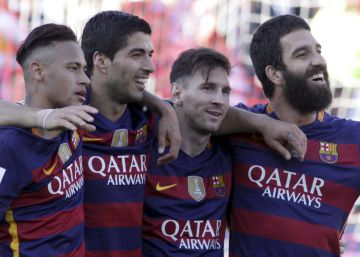 Barcelona vence o Granada e é campeão espanhol
