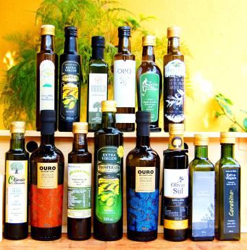 Seleção de azeites brasileiros