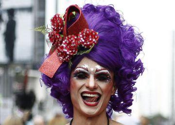 Orgulho LGBT e crítica política em SP