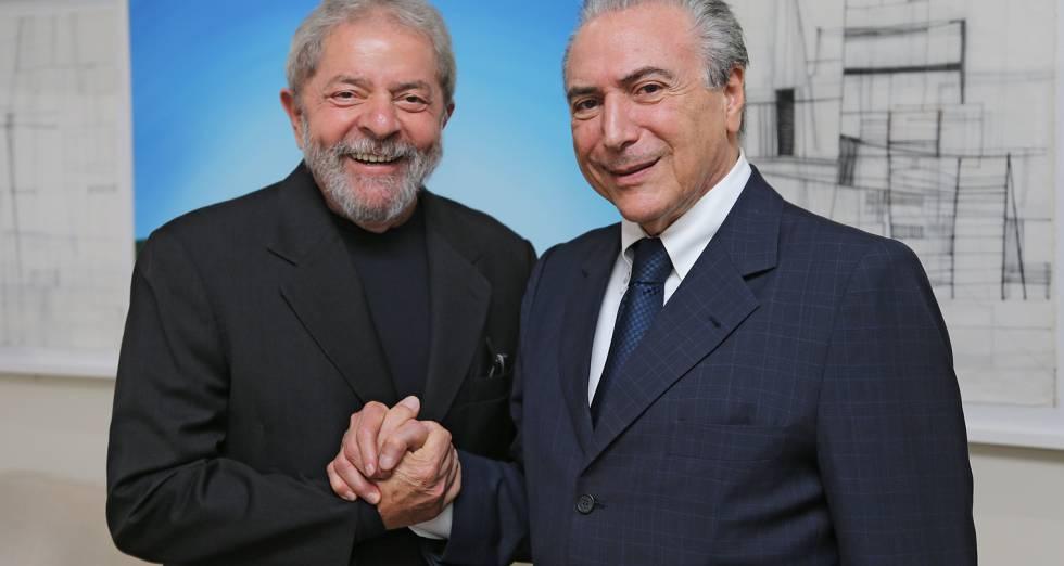 O filho de Temer e o filho de Lula