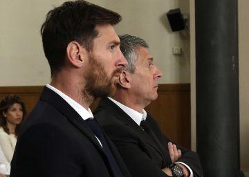 """Messi: """"Me dedico a jogar futebol e confio em meu pai"""""""