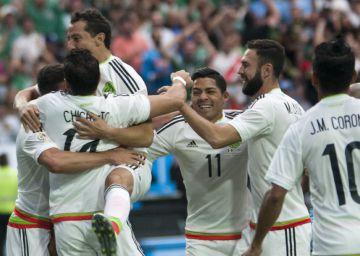 México bate o Uruguai por 3 a 1