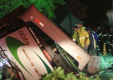 Al menos 18 muertos en un accidente de autobús en el Estado de São Paulo