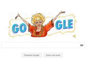 Dercy Gonçalves é homenageada pelo Google