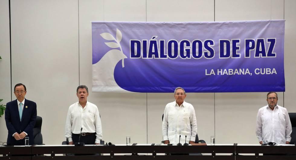 Paz na Colômbia