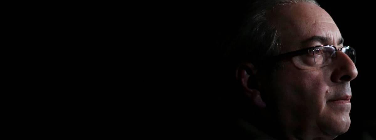 O deputado afastado, Eduardo Cunha.