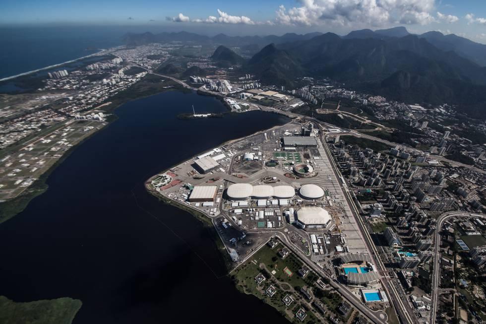 Vista aérea del Parque Olímpico