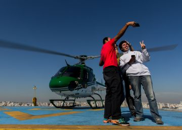 """""""Saí para almoçar de helicóptero por 36 reais"""""""
