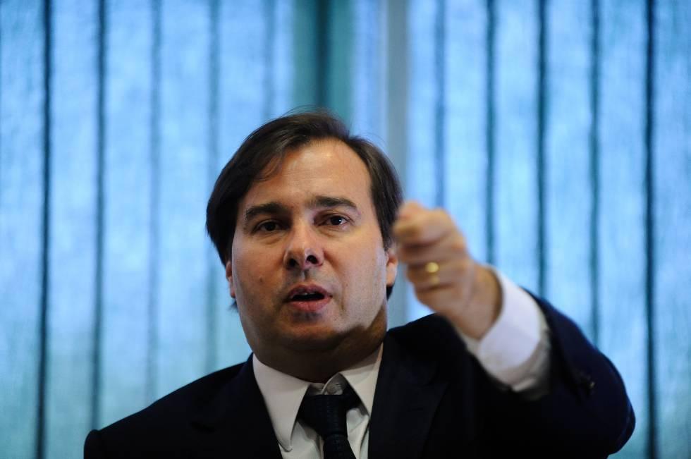 Rodrigo Maia, presidente da Câmara.