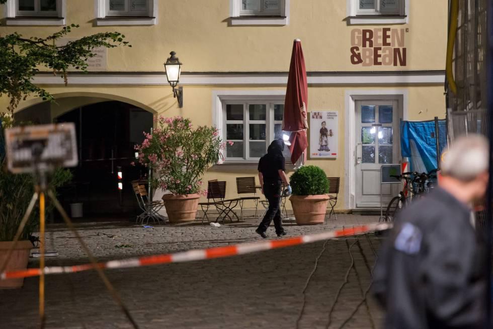 Imigrante sírio detona uma bomba e causa 12 feridos na Alemanha