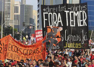 Domingo de protestos pró e contra Dilma
