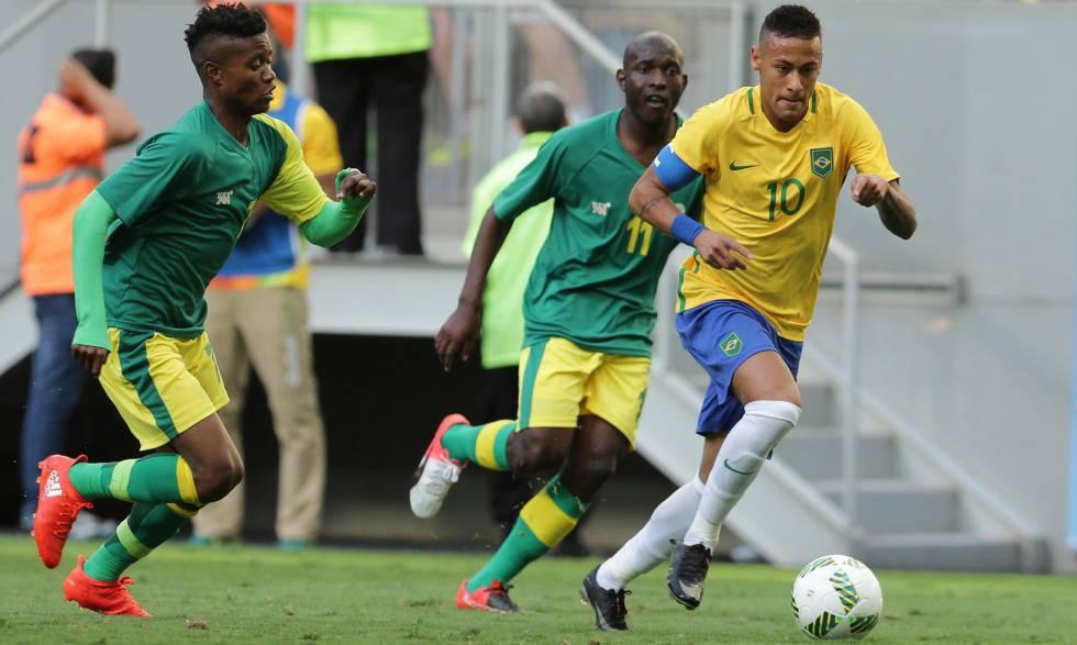 Seleção brasileira olímpica em Brasil x Africa do Sul ao vivo Olimpíadas Rio 2016