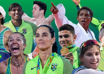 Medalhistas do Brasil revelam panteão da diversidade nacional