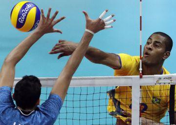 Brasil vence a Itália por 3 a 0 e é campeão no vôlei masculino
